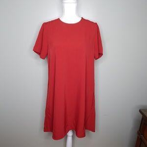 everlane women dress sizes 6 & 0 red